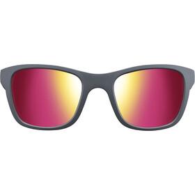 Julbo Reach Spectron 3CF Zonnebril 6-10 Jaar Kinderen, matt grey/multilaye rosa
